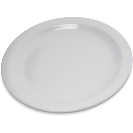 "4350302 - Dallas Ware® Melamine Salad Plate 7.25"" - White"