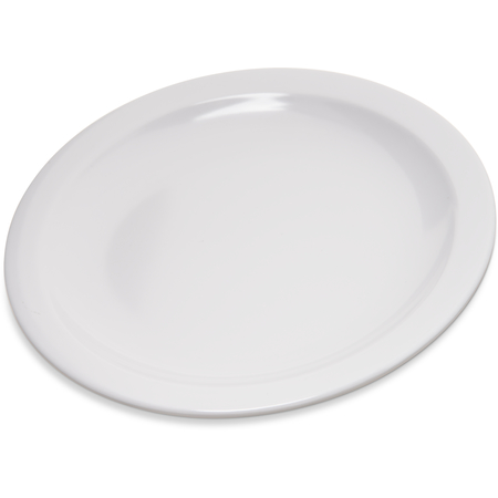 "4350402 - Dallas Ware® Melamine Pie Plate 6-1/2"" - White"