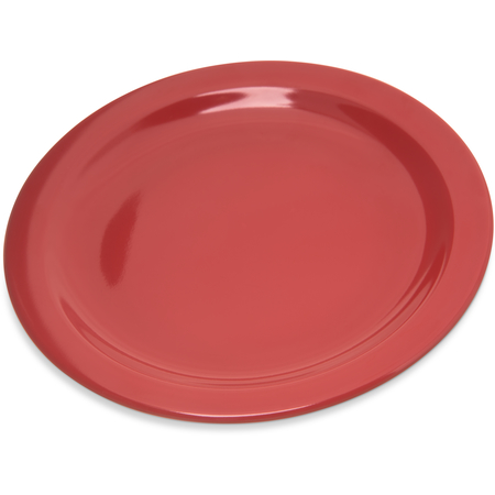 "4350305 - Dallas Ware® Melamine Salad Plate 7.25"" - Red"