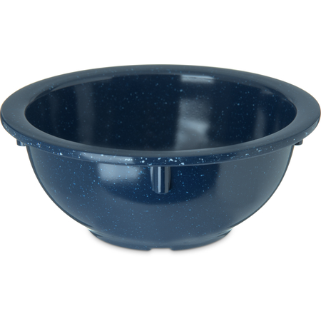 4352235 - Dallas Ware® Melamine Rimmed Nappie Bowl 14oz - Café Blue