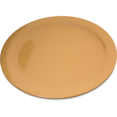 "4350022 - Dallas Ware® Melamine Dinner Plate 10.25"" - Honey Yellow"