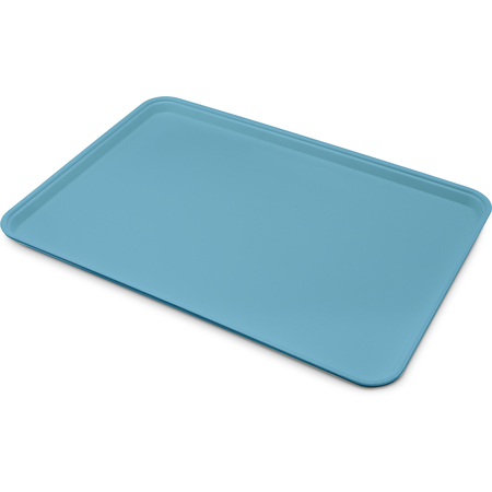 "1318FG013 - Glasteel™ Solid Display/Bakery Tray 17.75"" x 12.75"" - Ice Blue"
