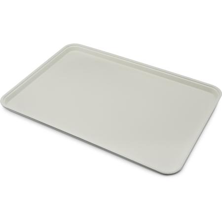 "2618FGQ002 - Glasteel™ Tray Display/Bakery 17.9"" x 25.6"" - Smoke Gray"