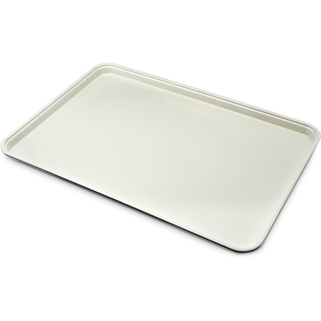 "1318FG022 - Glasteel™ Solid Display/Bakery Tray 17.75"" x 12.75"" - Ivory"