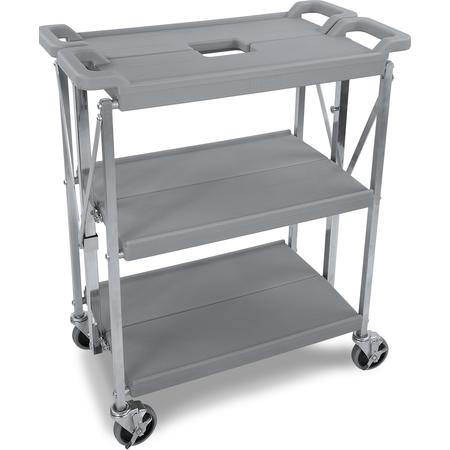 "SBC152123 - Fold 'N Go® Cart 15"" x 21"" - Gray"