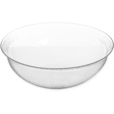 SB7607 - Pebbled Bowl Round 10 qt - Clear