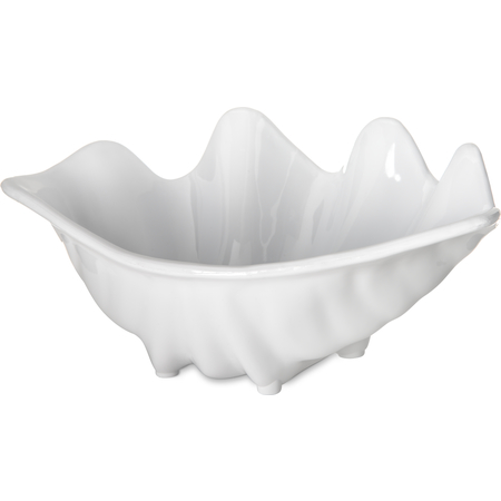 "33902 - Small Shell 12.6 oz, 8-7/8"" x 5-1/2"" - White"