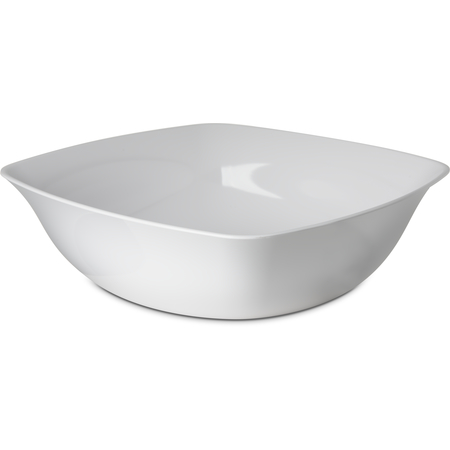 "3336202 - Square Flared Bowl 8qt,14"" - White"
