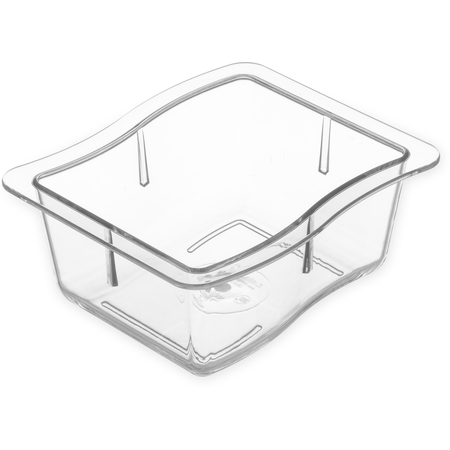 "698607 - Modular Displayware Third Size Pan 2-1/2"" Deep - Clear"