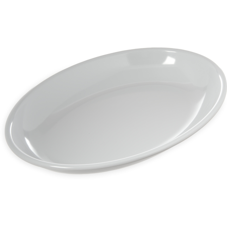 "791602 - Displayware™ 3 qt Oval Platter 16"" x 12"" - White"