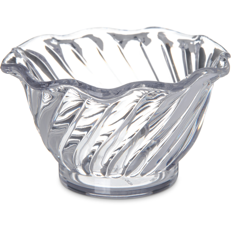 4530-907 - Tulip Dessert Dish 5.4 oz - Cash & Carry (12/st) - Clear