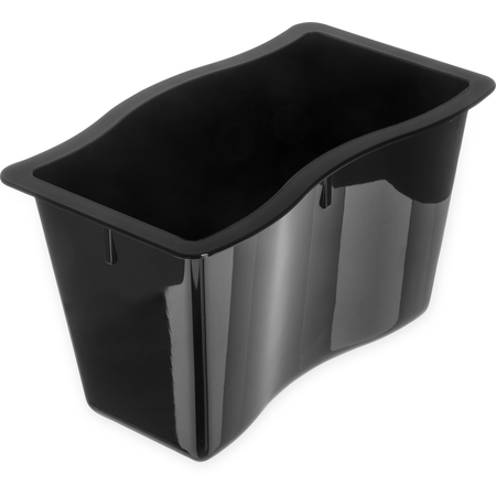 "6984603 - Modular Displayware Half Size Pan 6"" Deep - Black"