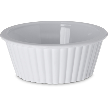 084402 - SAN Fluted Ramekin 2 oz - White