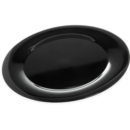 "4440603 - Designer Displayware™ Wide Rim Round Platter 19"" - Black"