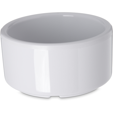 41202 - Melamine Straight-Sided Ramekin 3 oz - White