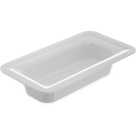 "4446202 - Designer Displayware™ Third Size Food Pan 2-1/2"" - White"