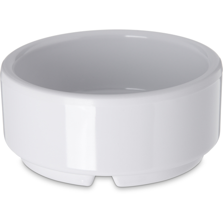 41002 - Melamine Straight-Sided Ramekin 2 oz - White