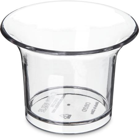 082007 - SAN Flared Oyster Sauce Cup Ramekin 2.5 oz - Clear