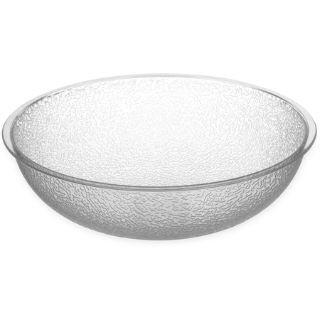 721007 - Round Pebbled Bowl 3.1 qt - Clear
