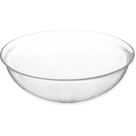 SB7407 - Pebbled Bowl Round 7 qt - Clear