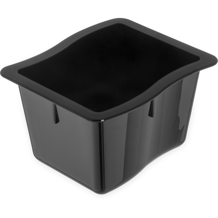 "6986403 - Modular Displayware Third Size Pan 4"" Deep - Black"