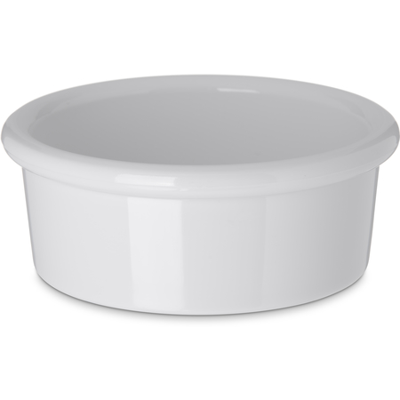 036202 - SAN Smooth Ramekin 2.5 oz - White
