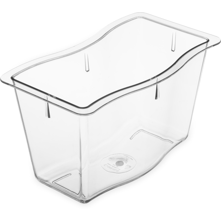 "6984607 - Modular Displayware Half Size Pan 6"" Deep - Clear"