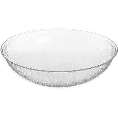 "SB7907 - Pebbled Bowl Round 22"", 24 qt - Clear"