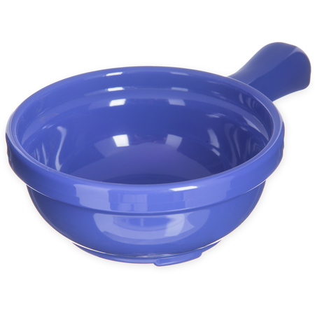"700614 - Handled Soup Bowl 8 oz, 4-5/8"" - Ocean Blue"