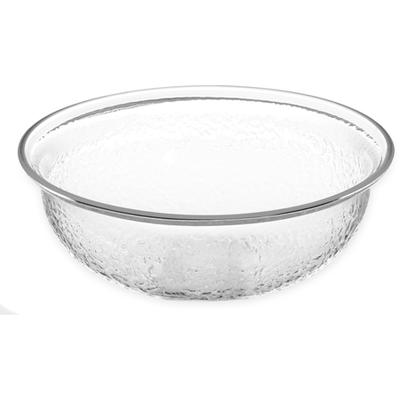 SB6807 - Pebbled Bowl Round 1.4 qt - Clear