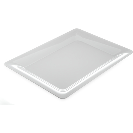 "4441602 - Designer Displayware™ Wide Rim Rectangle Platter 17"" x 13"" - White"