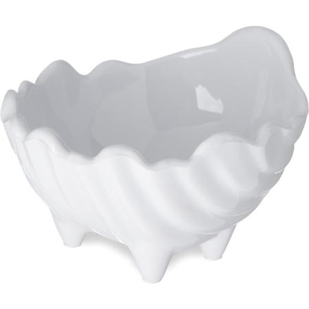 033802 - SAN Sea Shell Scalloped Sauce Cup Ramekin 2 oz - White