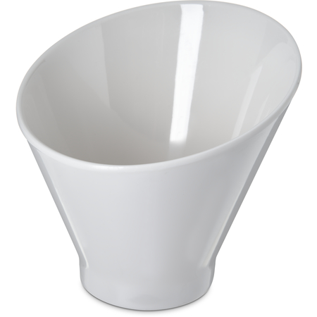 "HAL0602 - Halcyon Angled Appetizer Cup 6"" - 16 oz - Bone"