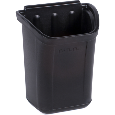 CC11TH03 - Bussing Cart Trash Bin 7 Gallon - Black