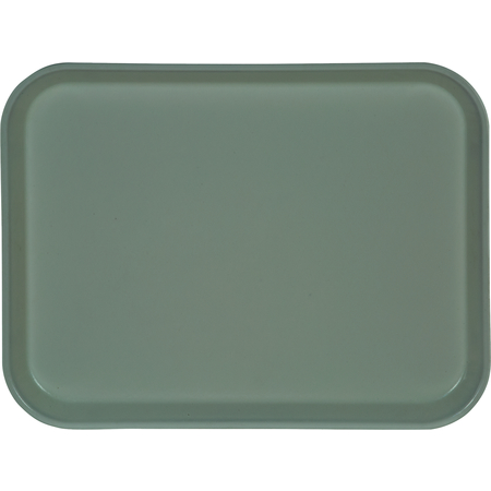 "1410FG012 - Glasteel™ Solid Rectangular Tray 13.75"" x 10.6"" - Sea Spray"