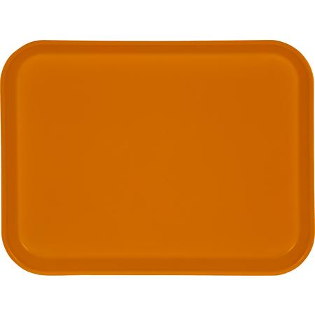 "1410FG023 - Glasteel™ Solid Rectangular Tray 13.75"" x 10.6"" - Gold"