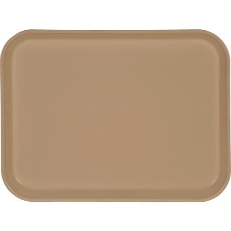 "1410FG025 - Glasteel™ Solid Rectangular Tray 13.75"" x 10.6"" - Beige"