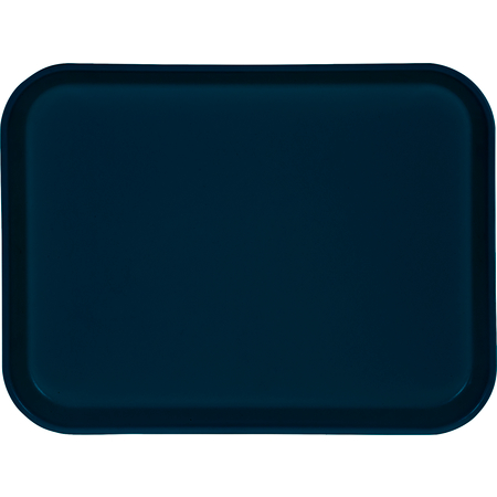 "1410FG050 - Glasteel™ Solid Rectangular Tray 13.75"" x 10.6"" - Sapphire Blue"