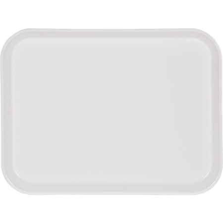 "2216FGQ001 - Glasteel™ Tray 22"" x 16"" - Bone White"