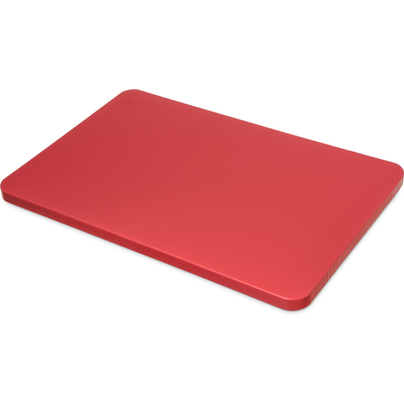 """1288205 - Spectrum® Color Cutting Board 12"""", 18"""", 3/4"""" - Red"""