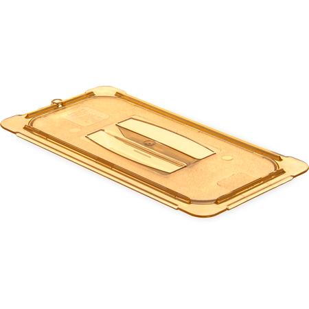 10470U13 - StorPlus™ High Heat Handled Universal Food Pan Lid 1/3 Size - Amber