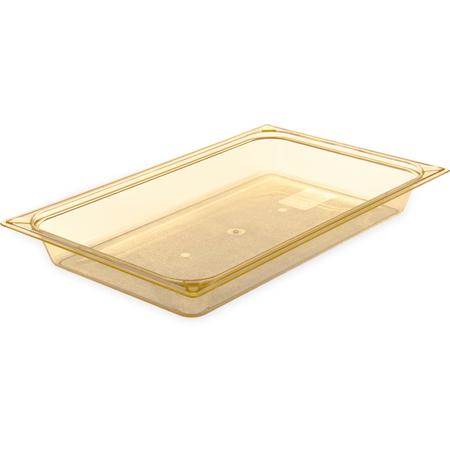 "10400B13 - StorPlus™ High Heat Food Pan Full-Size, 2.5"" Deep - Amber"
