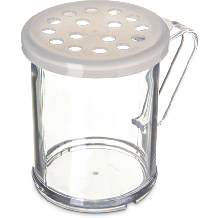423030 - Shaker/Dredge With Parsley Lid 1 cup / 8 oz./ Hole Dia 0.313 - Translucent