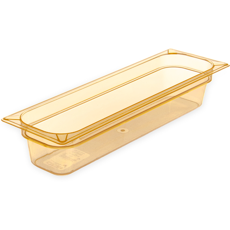 "10441B13 - StorPlus™ Food Pan HH 4"" DP 1/2 Size - Amber"