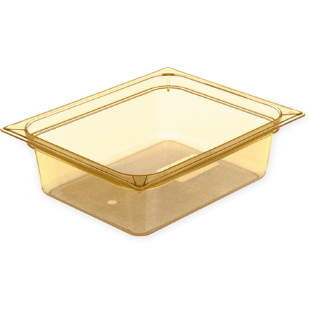 "10421B13 - StorPlus™ High Heat Food Pan 1/2 Size, 4"" Deep - Amber"