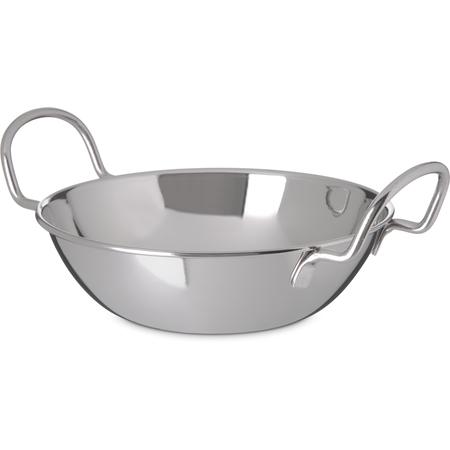 "609093 - Balti Dish 30 oz, 6-3/4"" - Stainless Steel"