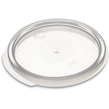 1077030 - StorPlus™ Round Food Storage Container Lid 1 qt - Translucent