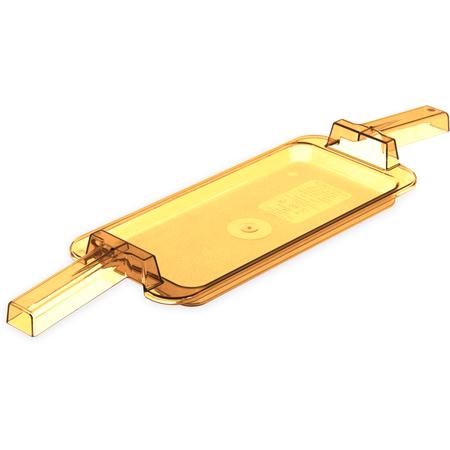 10458HH13 - High Heat Food Pans w/ 2 Handles 1/3 Size - Amber