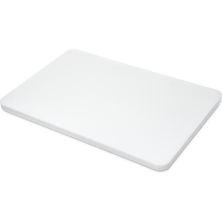 """1288102 - Spectrum® Cutting Board 12"""", 18"""", 3/4"""" - White"""