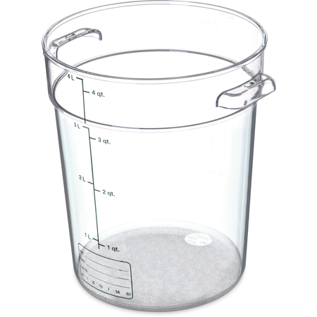 1076407 - StorPlus™ Round Food Storage Container 4 qt - Clear